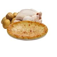 С курицей и картошкой